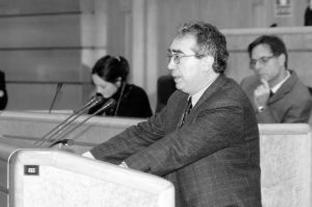 UPN pedirá al Parlamento la reprobación del senador autonómico Patxi Tuñón