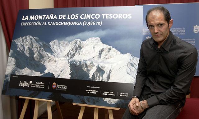 La Candidatura Pamplona 2016 acompañará a Patxi Goñi al Kangchenjunga