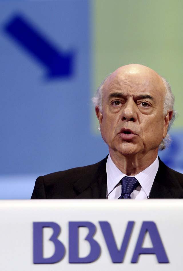 El presidente del BBVA pide un pacto económico y social en España para salir de la crisis