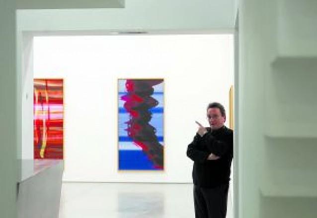 Broto lleva a la galería Pérez de Albéniz su cromatismo vivo