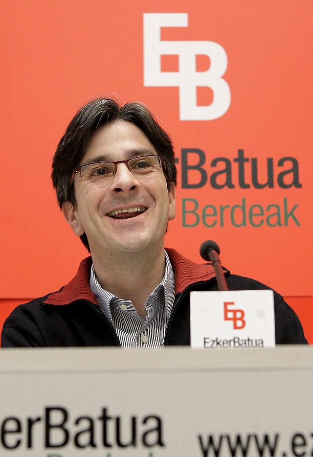 Mikel Arana descarta dar su apoyo a Patxi López