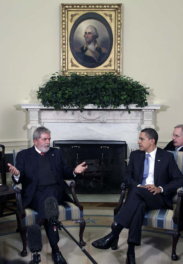 """Obama dice que Estados Unidos """"tiene mucho que aprender de Brasil"""""""