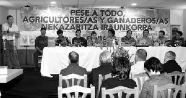 Fermín Irigarai, elegido nuevo presidente del sindicato agrario EHNE