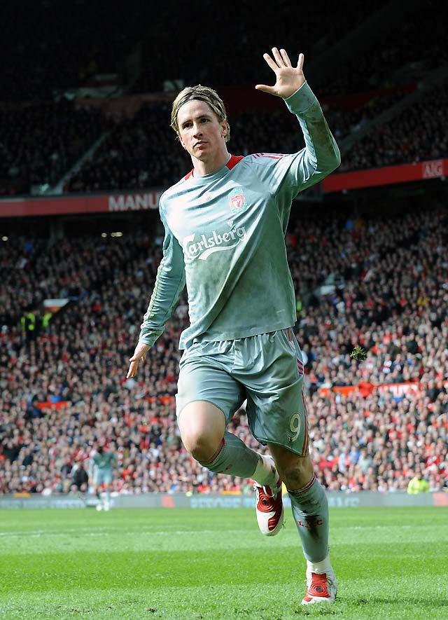 El Liverpool tomó Old Trafford