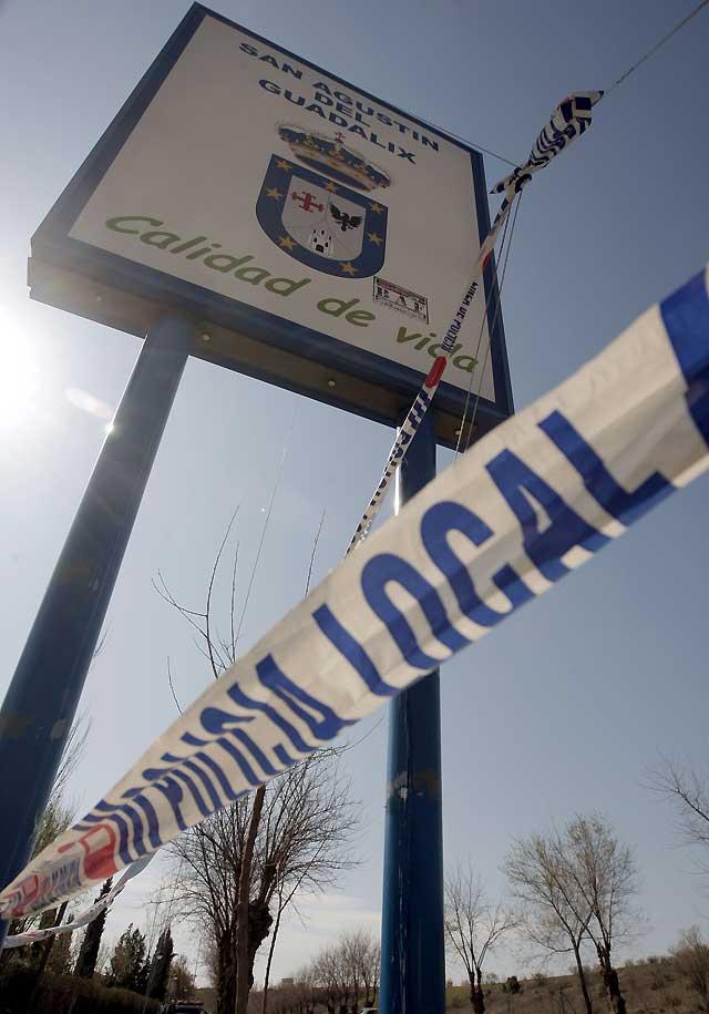 Encuentran los cadáveres de dos hombres en el municipio madrileño de San Agustín de Guadalix