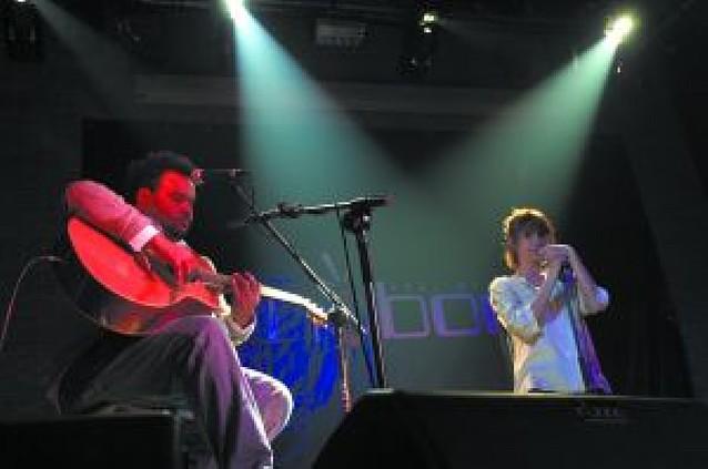 Najwajean y Clara Montes, pop y copla en Tudela