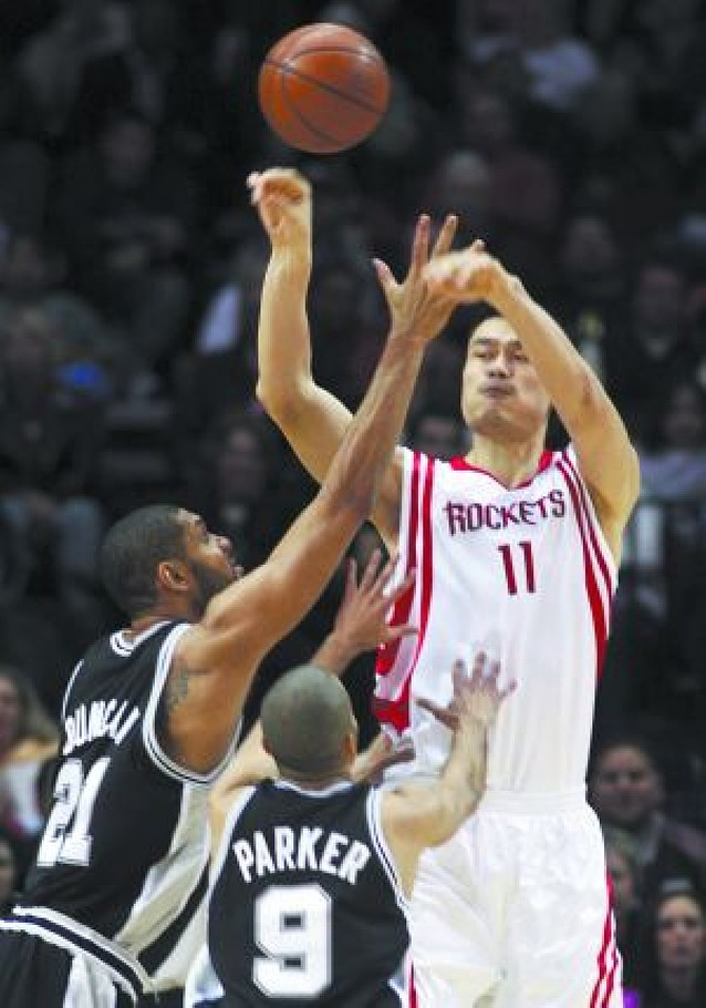 Los Spurs ganan a los Rockets y Wade hace historia