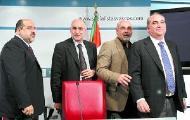 El PSE garantiza al PP que su apuesta por el cambio en el País Vasco es sincera