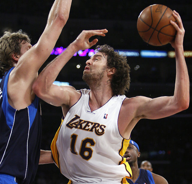 Los Lakers sobreviven a la metamorfosis de Dallas (107-100)
