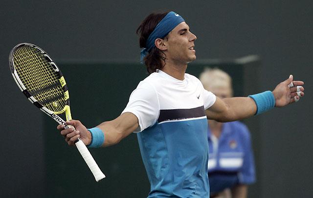 Nadal y Ferrer acceder con facilidad a la tercera ronda de Indian Wells