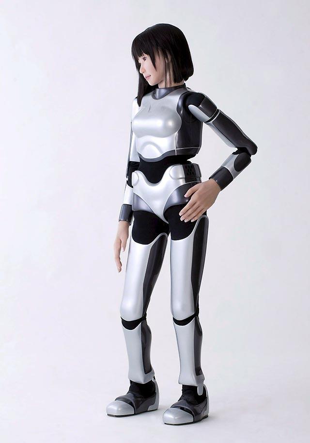Una robot japonesa desfilará sin ropa en la Semana de la Moda