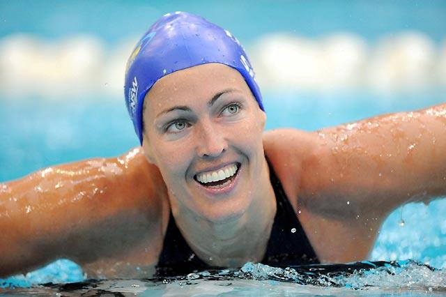 La nadadora sueca Therese Alshammar pierde su récord del mundo por usar dos bañadores