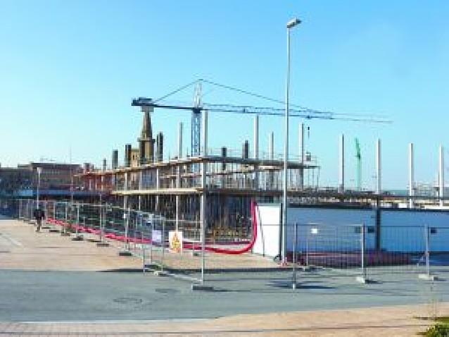 El nuevo polideportivo de Olite estará terminado para el verano