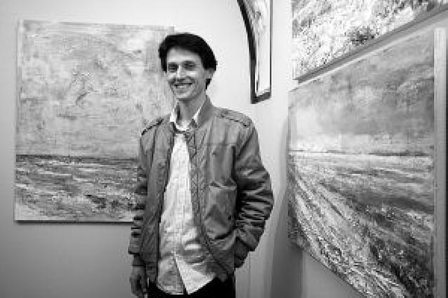 El pintor tudelano Carlos López expone en Castel-Ruiz