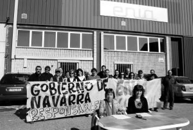 Los trabajadores de Enia denuncian el impago de las indemnizaciones