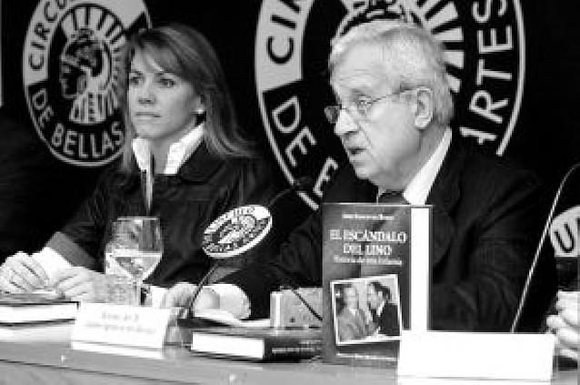 """Del Burgo presenta en Madrid un libro sobre la """"falsa trama del lino"""""""