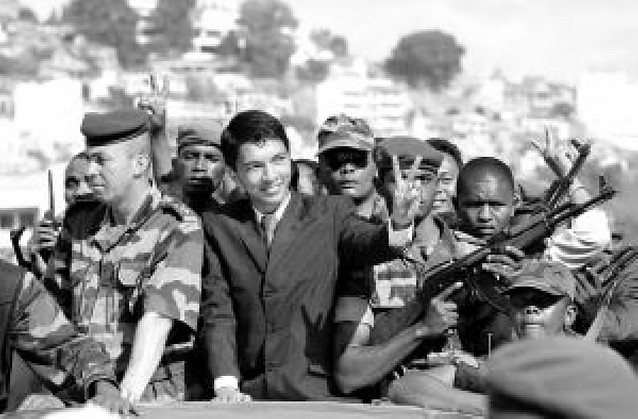 Nuevo presidente en Madagascar