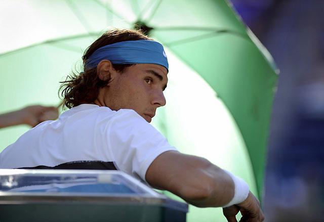 Nadal pasa a octavos en Indian Wells aunque cae eliminado en dobles