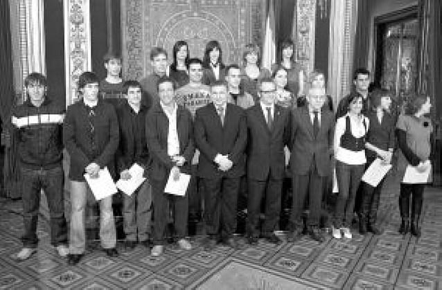 Premio para los dieciocho alumnos de FP con mejores calificaciones