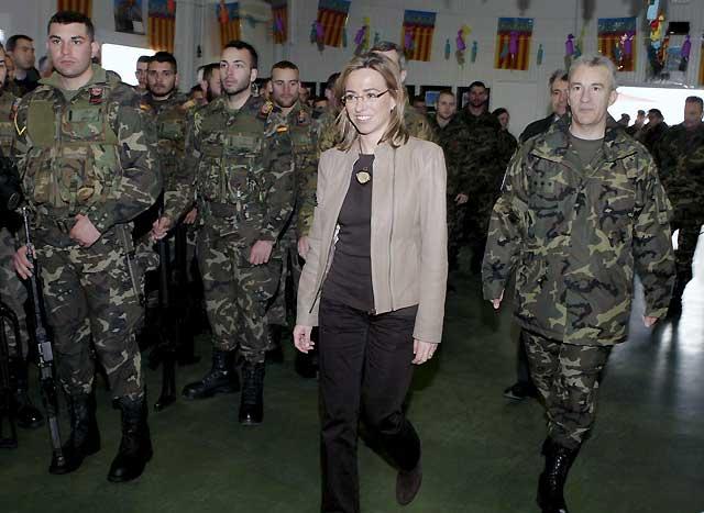 España anuncia el repliegue escalonado de sus tropas diez años después de su llegada a Kosovo