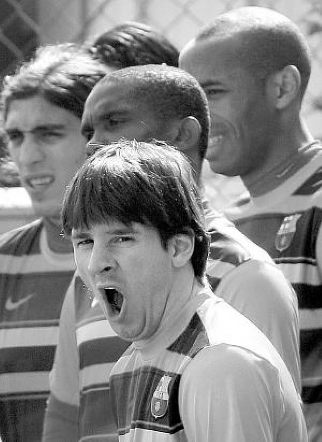 """Messi: """"Si por mí fuera, me quedaría en el Barcelona toda la vida"""""""