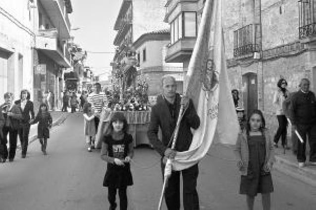 La imagen de San José recorre las calles