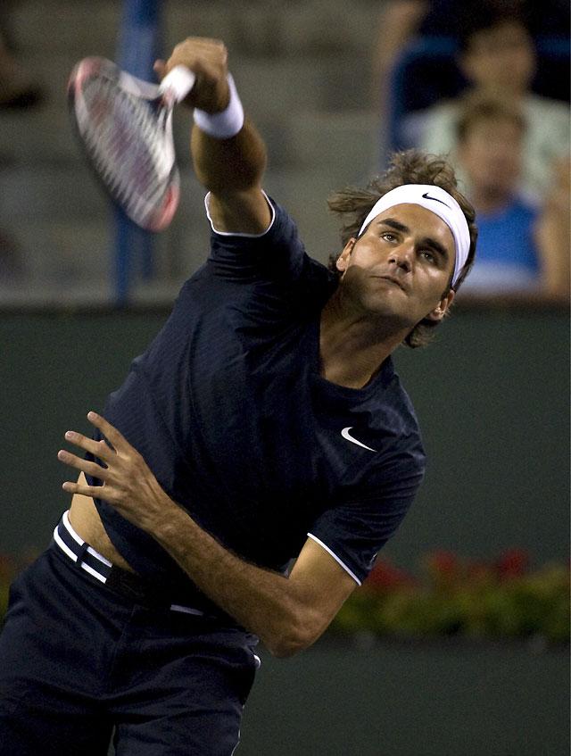 Federer se mete en semifinales de Indian Wells