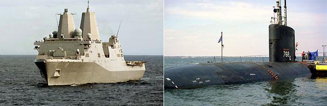 Quince heridos en la colisión entre un submarino y un buque de Estados Unidos en el Golfo Pérsico