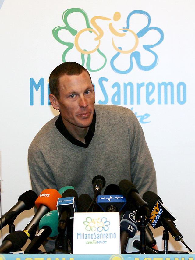 """Armstrong: """"Ya no puedo ganar como antes de mi retirada"""""""