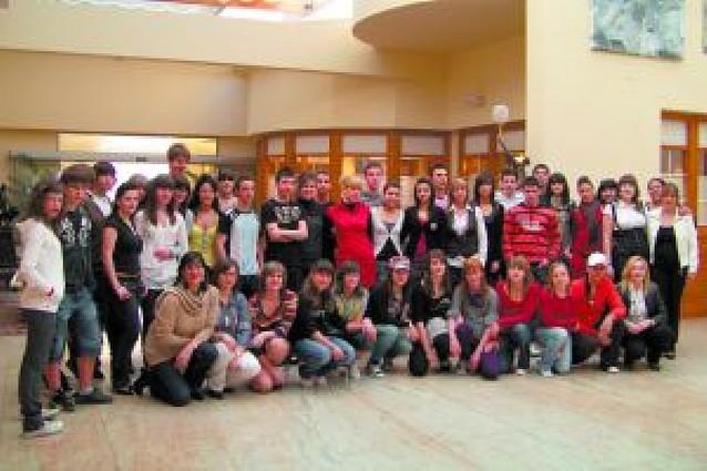 San Adrián se convierte en una pasarela de moda