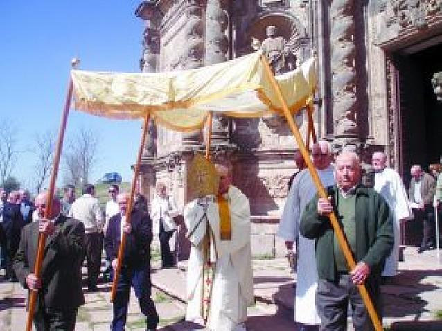 El santuario de San Gregorio recibió a los primeros romeros