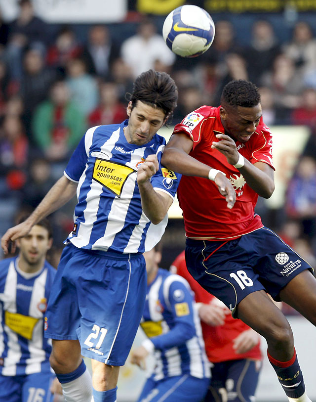 Neko da tres puntos de oro a Osasuna ante el Espanyol