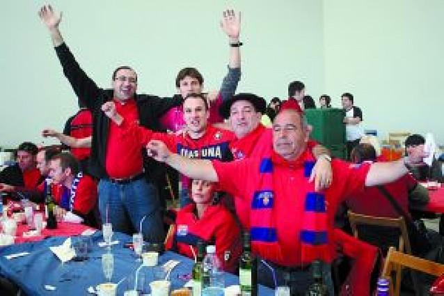 Las peñas salvan a Osasuna
