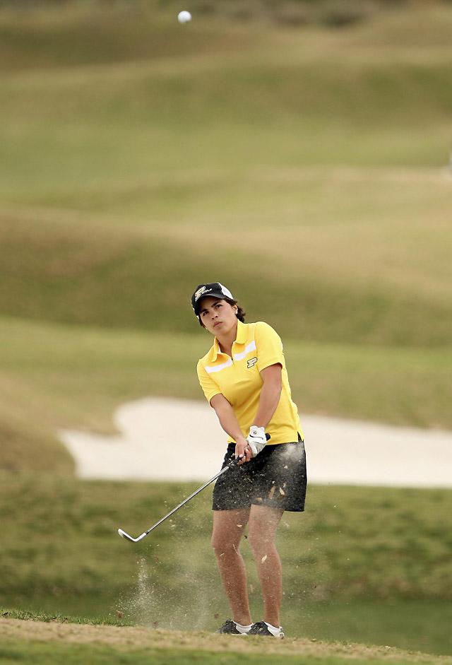La golfista navarra María Hernández gana el Betsy Rawls Longhorn por segunda vez en tres años
