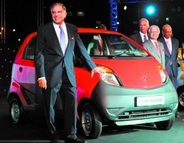 El Tata Nano, sólo para 100.000 pobres de La India