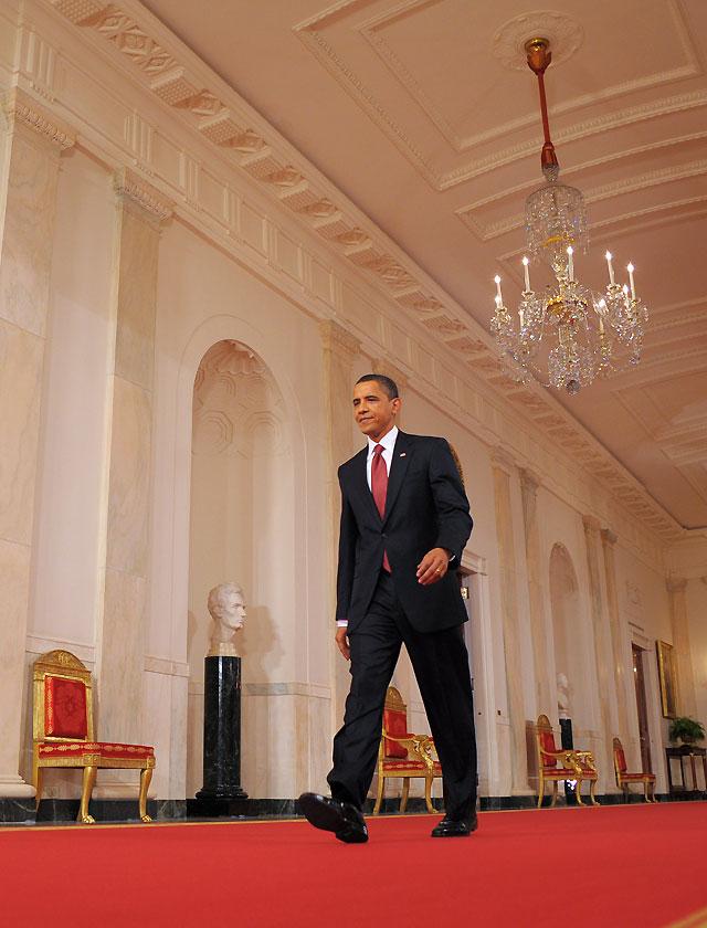 Obama aprecia señales de progreso en la economía