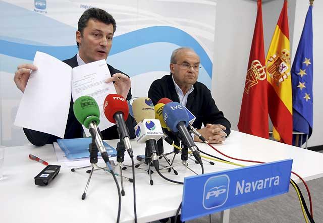 """Cervera advierte que la """"inadecuada"""" reforma de la ley del Aborto """"invade"""" las competencias de Navarra"""