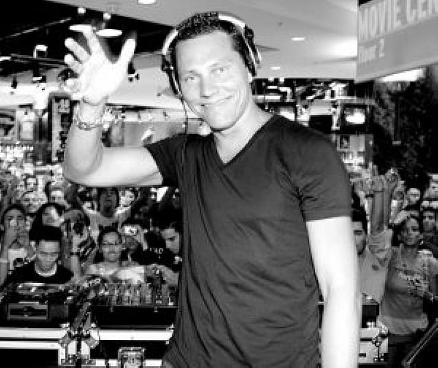 Dj Tiësto, uno de los mejores disc jockeys del mundo, actuará en Sanfermines