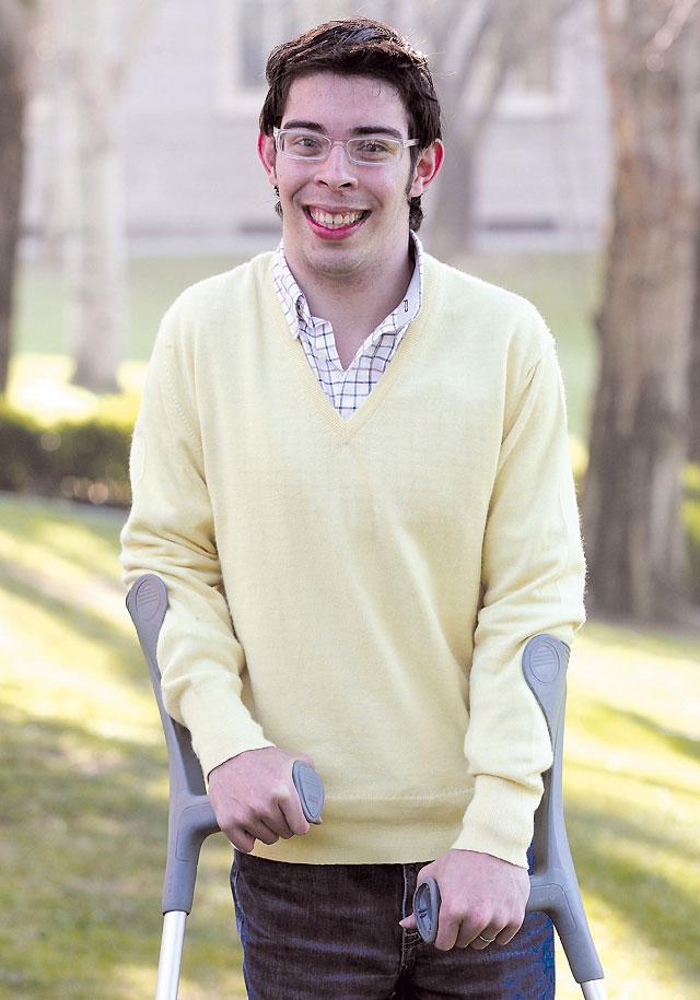 Diego López, un discapacitado muy capaz