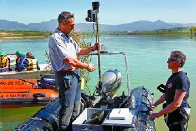 Un robot con cámara y una sonda en Alloz tampoco encuentran a María Puy Pérez