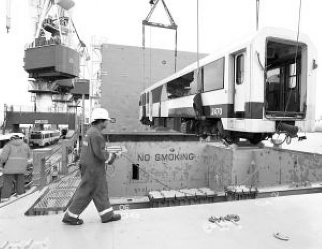 España exporta a Argentina sus viejas locomotoras y vagones