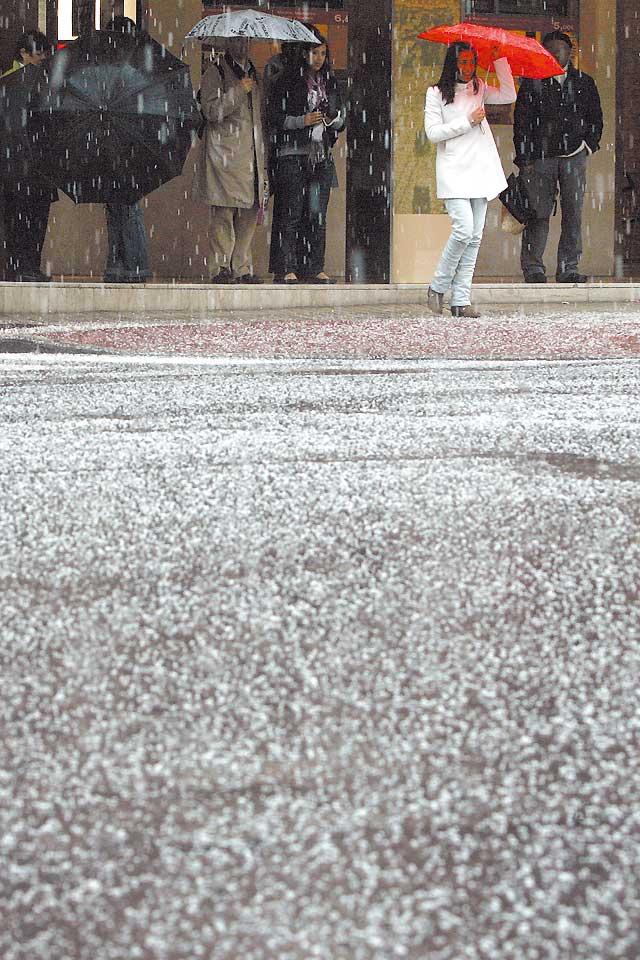 Frío y lluvia para los próximos días