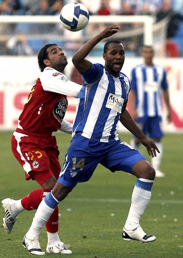 El Deportivo araña un valioso punto al Málaga