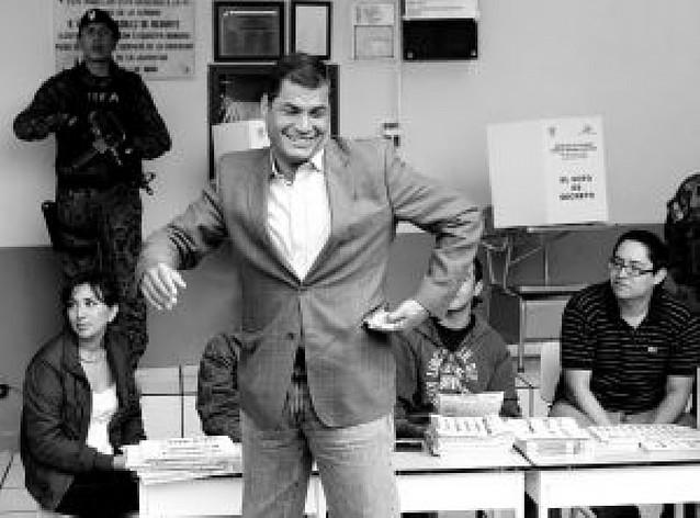 Normalidad ante la jornada de las urnas legislativas y presidenciales en Ecuador