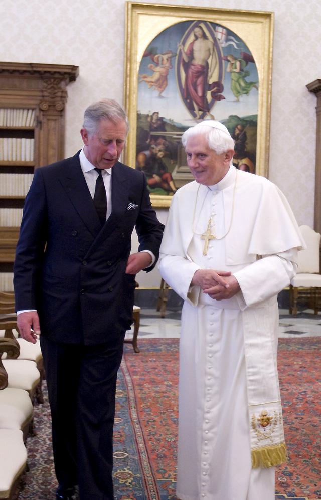 Carlos de Inglaterra y el Papa comparten sus puntos de vista sobre la defensa del ambiente