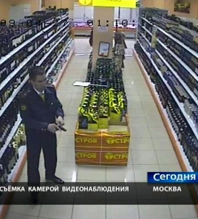 Un mando de la Policía rusa asesina a tres personas en un supermercado
