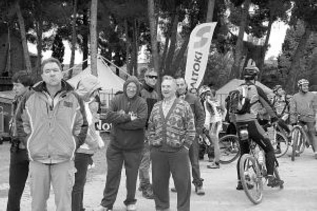 Los ciclistas locales, a buen nivel