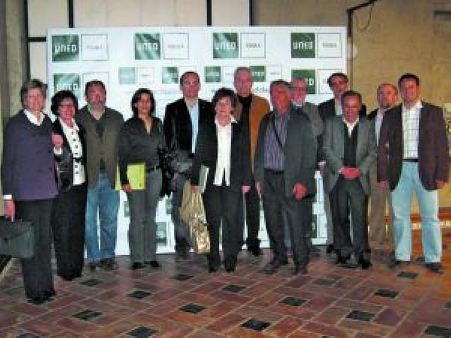 Directores del Campus Norte de la UNED se reúnen en Tudela