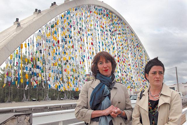 Arte reciclado para las Oblatas