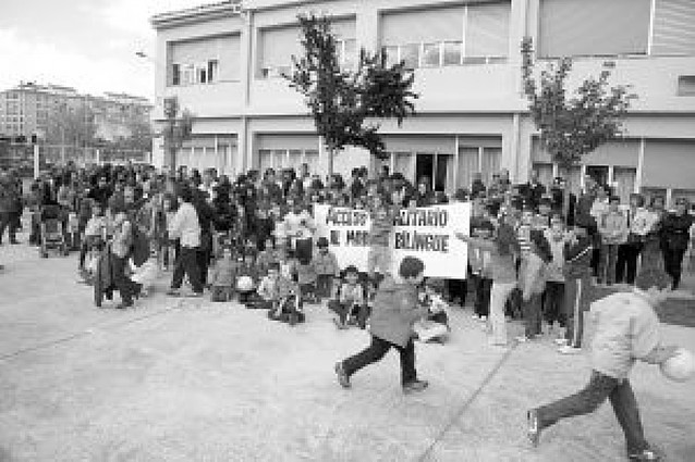 El colegio Griseras critica el acceso al modelo bilingüe